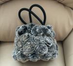 Женская сумочка из меха кролика