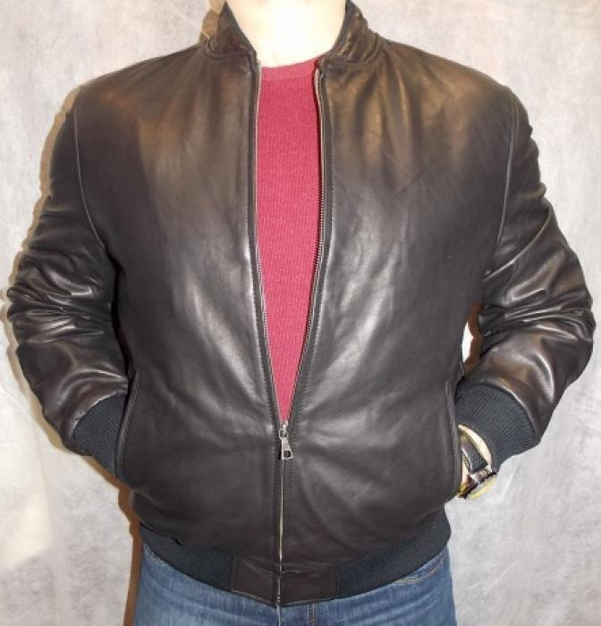 Купить Мужскую Короткую Кожаную Куртку На Резинке
