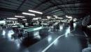 пошивочный цех Греческой меховой фабрики