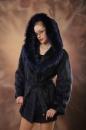 полушубок, куртка из нутрии