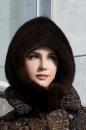 женский головной убор из меха