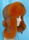 женские шапки,головные уборы из меха лисы,песца,меховая фабрика,компания...