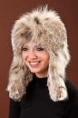 модель женской шапки из коллекции головных уборов предприятия