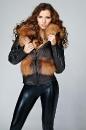 жилет- куртка из лисы